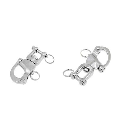OSCULATI Stainless Steel Anchor Chain Shackle Snap Hook Swivel 94x16x16x8mm
