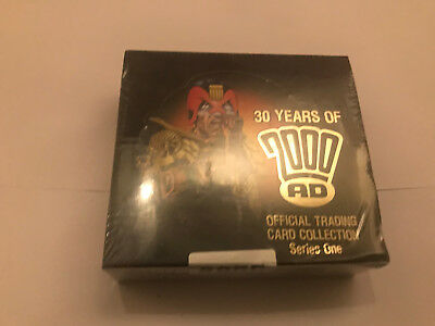 Judge Dredd Strictly Ink 30 years of 2000AD UNOPENED box 30 packs of 5 cards
