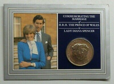 Charles and Diana 1981 Brilliant Uncirculated Crown In Presentation Pack