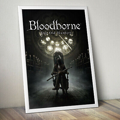 BLOODBORNE Gaming Gamer Video Game Poster Print  A4 A3 A3+  FRAME OPTIONS Gift