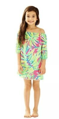 3ee54df1b9bc5 NWT Lilly Pulitzer Mini Enna Tunic Dress   Off Shoulder   Tiki Pink   Size S