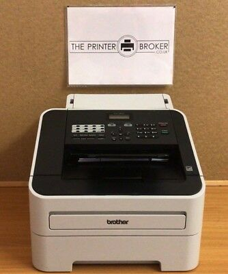 FAX2840ZU1 - Brother FAX-2840 A4 Mono Fax Machine