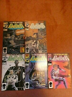 Punisher 1-5 - First Limited Series