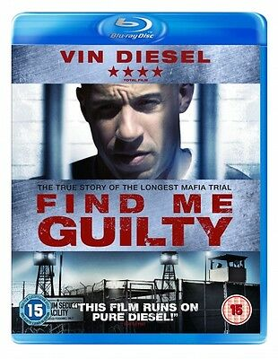 Find Me Guilty (Blu-ray) (NEW AND SEALED) (REGION 2) (FREE POST)