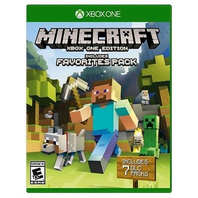 Minecraft includes Favorites Pack Full Game [Digital Download] [Xbox One]