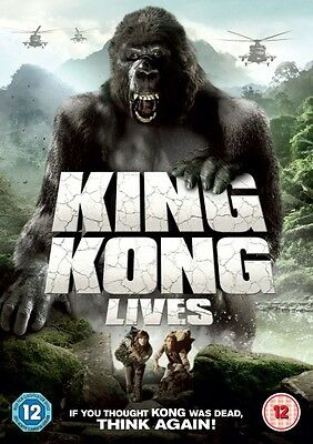 King Kong Lives (1976) (DVD) (NEW AND SEALED) (ADVENTURE) (REGION 2)