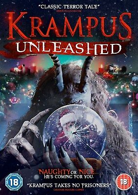 Krampus - Unleashed (DVD) (NEW AND SEALED) (REGION 2) (FREE POST)
