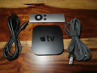 Apple TV (3rd Gen) MD199LL/A A1469 Smart Media Streaming Player HDMI W/ Remote