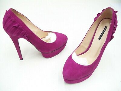Tony Bianco Ladies Womens Formal Dress Heels Shoes Suede Leather Size 8.5