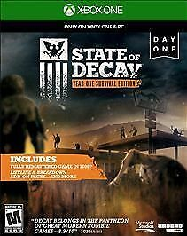 State of Decay Year One Survival Edition Day One (Microsoft Xbox One, 2015)