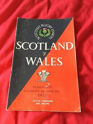1959-Scotland V Wales-Five Nations-International Rugby Union Programme