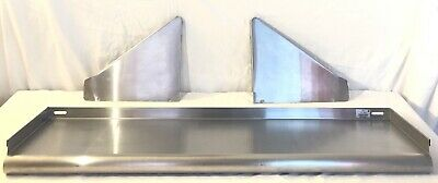 """Advance Tabco 36"""" Wall Mounted Shelf Model WS-KD-36 Stainless Steel"""