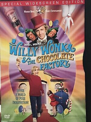 WILLY WONKA AND THE CHOCOLATE FACTORY! Special Edition DVD! Gene Wilder!