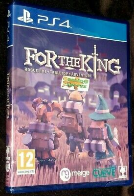 For The King Playstation 4 PS4 NEW SEALED Free UK p&p Pal