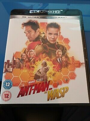 Ant-Man and the Wasp (4K UHD & Blu Ray)