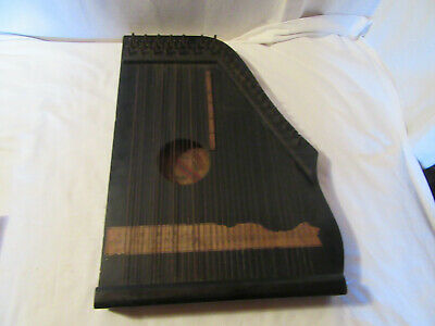 ancienne guitare cithare harpe mandolin zither