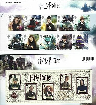 2018 Gb Qe2 Royal Mail Commemorative Stamp Presentation Pack No 562 Harry Potter