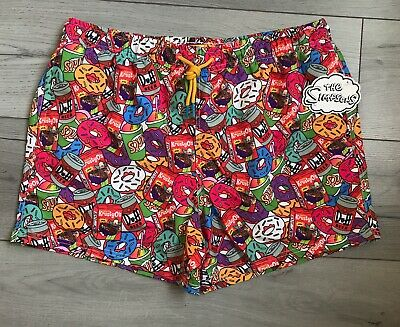 961343946c The Simpsons Mens Swim Shorts Swimming Trunks Size XS-XXL Holiday Beach  Primark