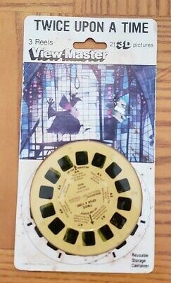 Rare Twice Upon a Time Lucasfilm animated comedy movie Viewmaster Reels Pack Set