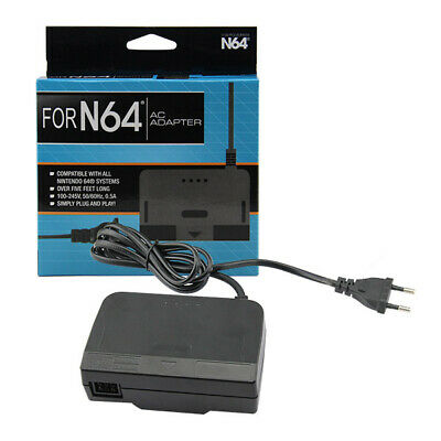 Transformador Nintendo 64, N64, fuente alimentación, power supply, cargador