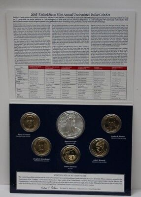 2015 United States Mint Annual Uncirculated 6 Dollar Coin Set 89084