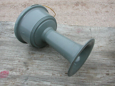No 372 EDWARDS ADAPTAHORN with 240/120V TRANSFORMER VIBRATING HORN ALARM TESTED