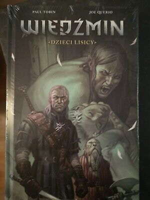 Witcher Comic Book IN POLISH Fox Children Hardback