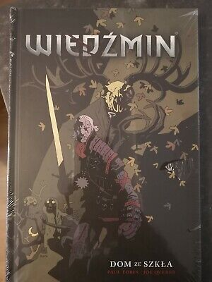 Witcher Comic Book IN POLISH House Of Glass Hardback