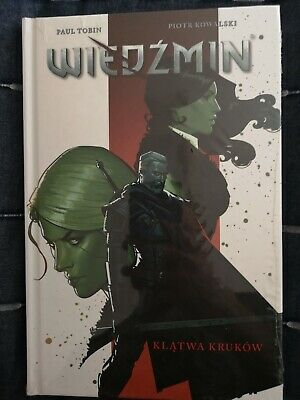 Witcher Comic Book IN POLISH Curse Of Crows Hardback