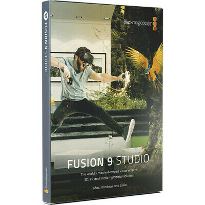 BMD Fusion 9 Studio for Mac & Windows (DongleElectronic Download)  Ships f Miami