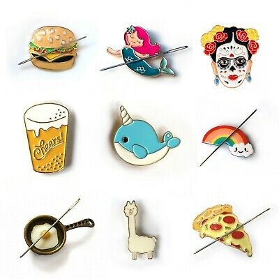 Needle Minders - Unicorns - Food - Llama - Narwhal - Frida - Cute - Magnetic