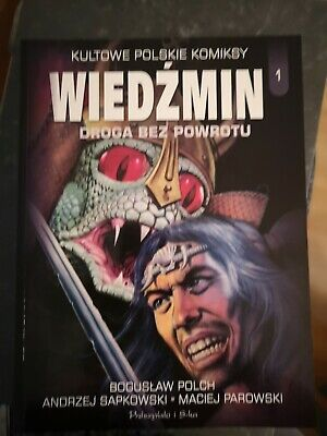 Witcher Comic IN POLISH Droga Bez Powrotu Road Of No Return