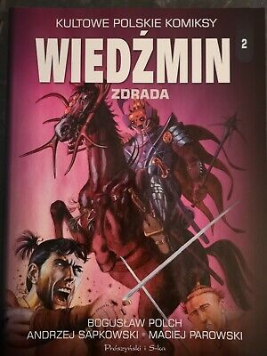 Witcher Comic IN POLISH Zdrada Betrayal