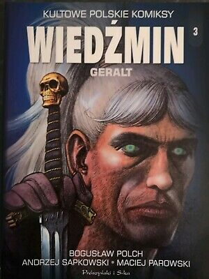 Witcher Comic IN POLISH Geralt