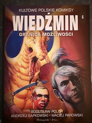 Witcher Comic IN POLISH Granica Mozliwosci Limit of Abilities