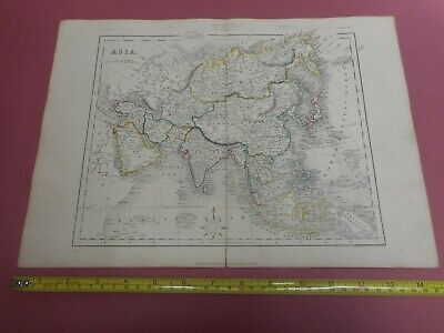 100% Original Asia China East Indies Map By H G Collins C1856  Low Start