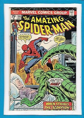 """Amazing Spider-Man #146_July 1975_Vg/f_The Jackal_""""when Strikes The Scorpion""""!"""