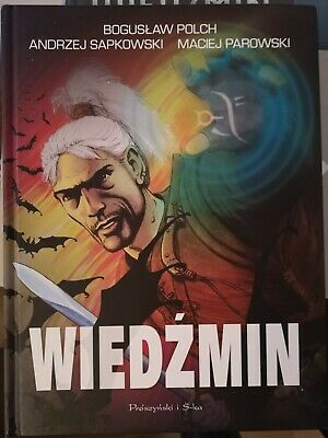 Witcher Comic Compilation Collection hardback IN POLISH