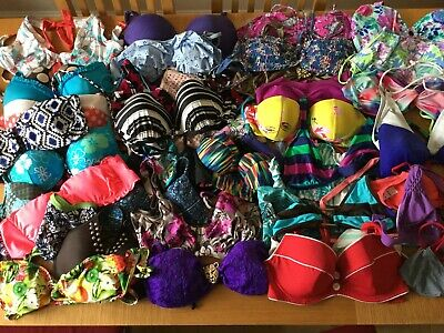 Joblot Of Ladies Swimwear -  Bikini Tops - 22 Items