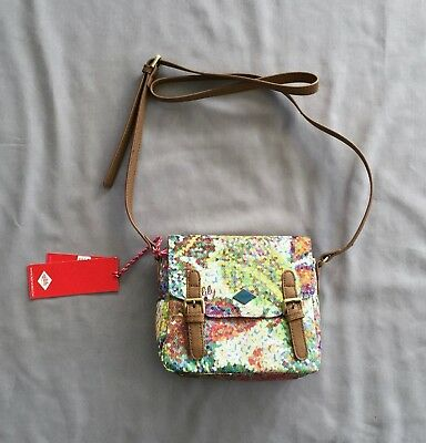Nwt Oilily Girls Multi-Coloured 'Micro Satchel'  Handbag / Shoulder Bag