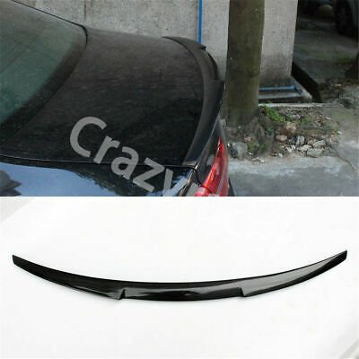 CARBON FIBER BMW COUPE E90 4 DOOR M4 Style REAR BOOT SPOILER WING UK Seller