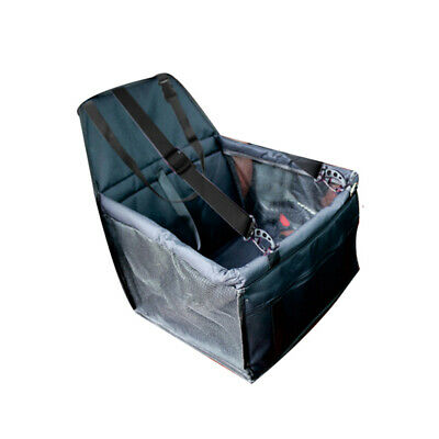 Pet Car Safety Seat Breathable Waterproof Cat Dog Travel Carrier Bag Black T8P7
