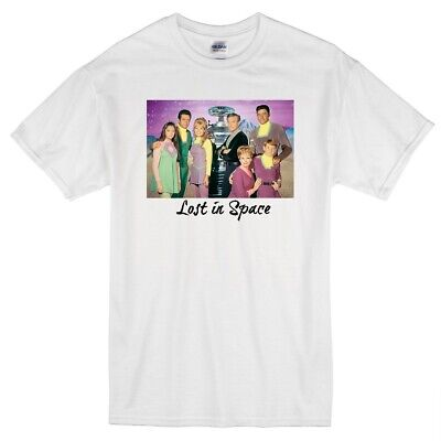 Lost In Space June Lockhart Billy Mumy Retro Sci-Fi 1960'S Tv Show White T-Shirt