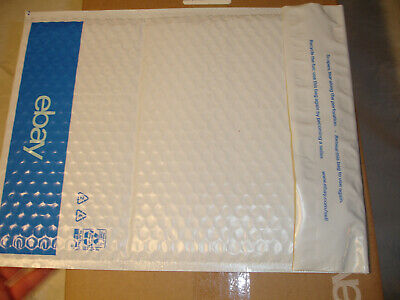 LOT of 100 Shipping eBay Airjacket Padded Envelope Bubble Mailer 9.5 x 13.25 NEW