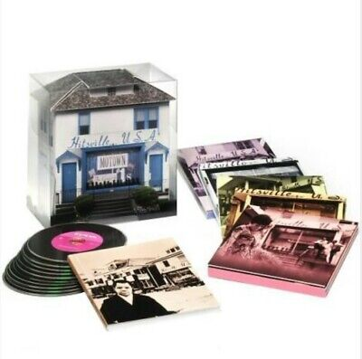 MOTOWN 10-CD Box B0012208-02: Motown: The Complete No. 1's, Various, 2008 USA NM