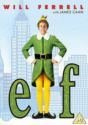 Elf DVD Will Ferrell, James Caan Christmas Xmas Comedy New & Sealed Fast Post!