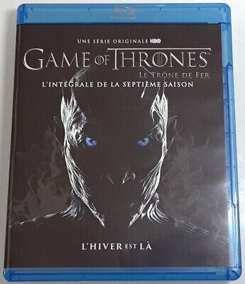 GAME OF THRONES The Complete Seventh Season Blu-Ray REGION-FREE FRENCH IMPORT 7