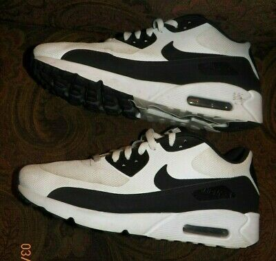 buy popular 0ad5f 50494 Nike Air Max 90 Ultra 2.0 Essential White Black Hyperfuse 875695-100 MEN S  SZ