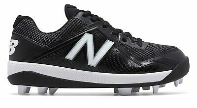 New Balance Kid's Low-Cut 4040v4 Rubber Molded Baseball Cleat Big Kids Unisex