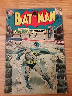 Batman (Vol.1) #166 (DC, 1964) Fair condition. Nice Silver Age Issue.